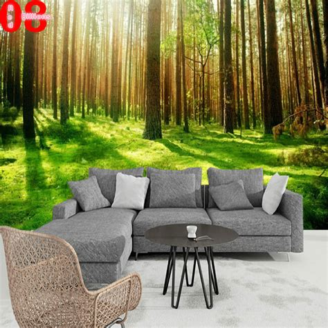 size wall murals any size modern mural stereotelevision wall wallpaper 3d wall murals wallpaper forest wall
