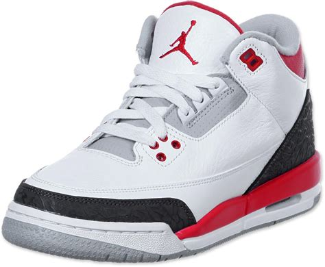 imagenes jordan retro 3 nike air jordan 3 retro bg shoes white red