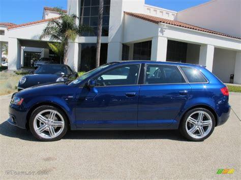 Audi A3 Blau by 2013 Scuba Blue Metallic Audi A3 2 0 Tdi 70132872 Photo