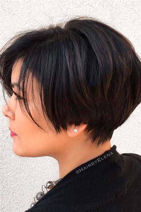 weighted cuts for short hair 20 trendy short haircuts for women over 50 short