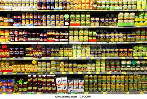 grocery store shelves grocery store shelves canned food stock photos grocery