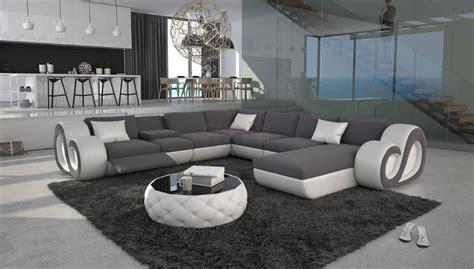 grand canapé en u grand canap 233 d angle en u led nesta xl 2 499 00