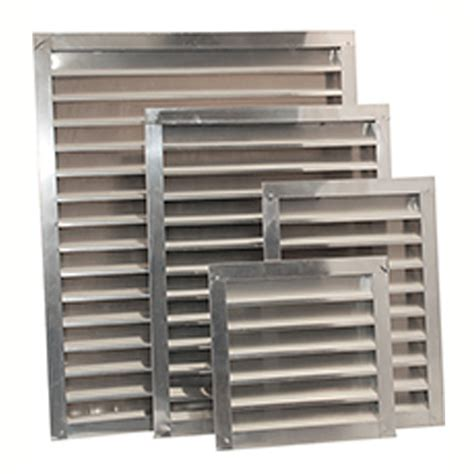 wall exhaust fans with louvers wall and gable louvers multiple sizes colors
