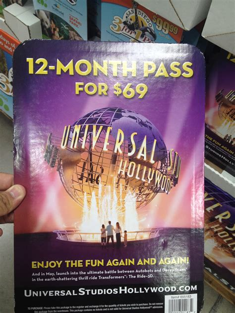 Universal Studios Hollywood Gift Card - disneyland ticket deals costco 2017 lamoureph blog