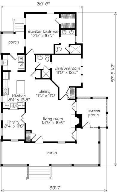 southern living floor plans banning court house plan by moser design via