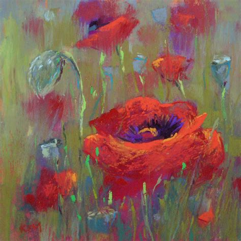 poppy color painting my world time for some color poppies