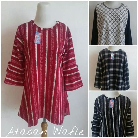 Pusat Grosir Baju Murah Fairuz Tunik kulakan atasan wanita dewasa terbaru murah 36ribu