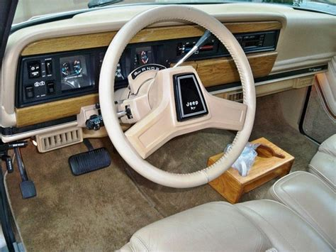 1987 jeep wagoneer interior 1990 jeep grand wagoneer interior grand wagoneer