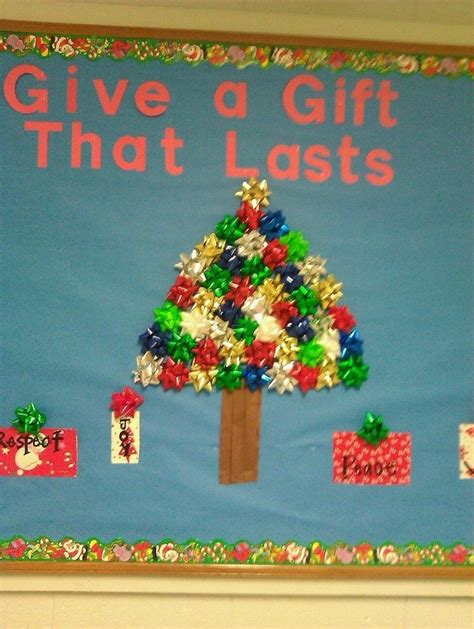 christmas gifts for church boards bulletin boards bulletin board presents ideas could be endless could