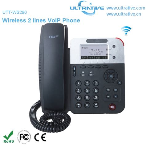 wireless voip desk phone 2 lines wifi voip phone wireless ip phone enterprise hd