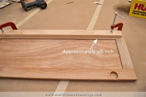 convert wood cabinet doors to glass how to router cabinet doors for glass cabinets matttroy