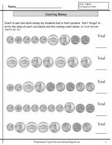 counting coins worksheets from the teacher s guide