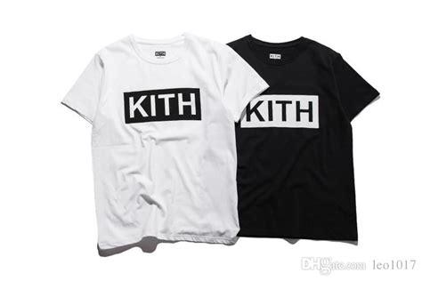 Kith White T Shirt kith t shirt sleeve 2017 summer brand o