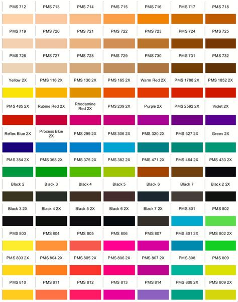 pantone color code vision forms print and mail outsourcing for local