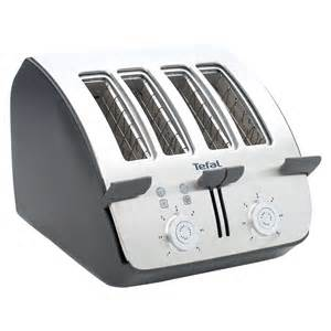Tefal 4 Slice Toaster Tefal Tt7441 Black And Chrome 4 Slice Toaster Review