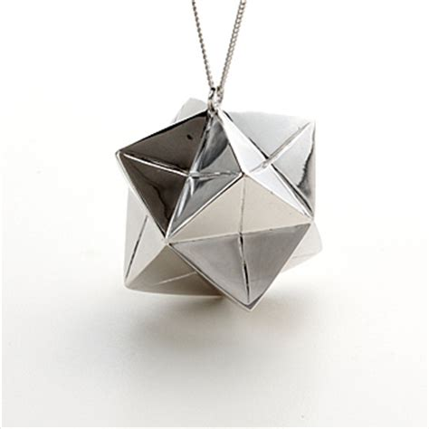 Origami Jewellry - origami jewelry is cool the luxury spot