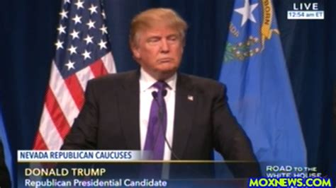 donald trump got pushed donald trump quot we re not gonna be the people that get