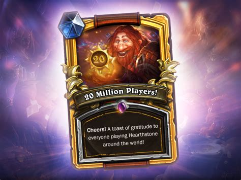 Biggest Blizzard by Hearthstone Reaches 20 Million Players In 6 Months