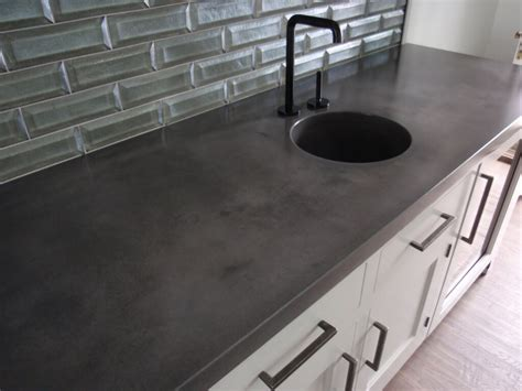 cement countertops verdicrete concrete countertops brooks custom