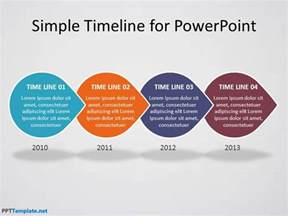 template for powerpoint presentation free timeline ppt template