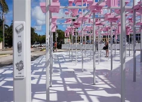 designboom unbuilt unbuilt pavilion by harvard gsd at desig miami 187 retail
