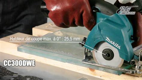 d 233 couper du verre avec la scie 224 diamant 10 8 v li ion