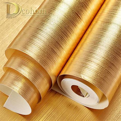 gold wallpaper cheap online buy wholesale gold stripe wallpaper from china gold