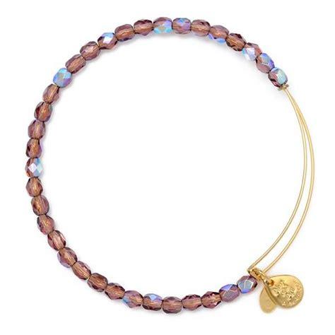 beaded alex and ani bracelets amethyst rock beaded bracelet from alex and ani