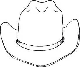 hat coloring free printable cowboy coloring pages for