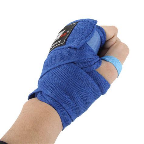 Wrap Bandage Muay Thai Boxing Sepasang 5 Cm X 2 7 M 2pcs Roll Width 5cm Length 2 5m Cotton Sports Boxing