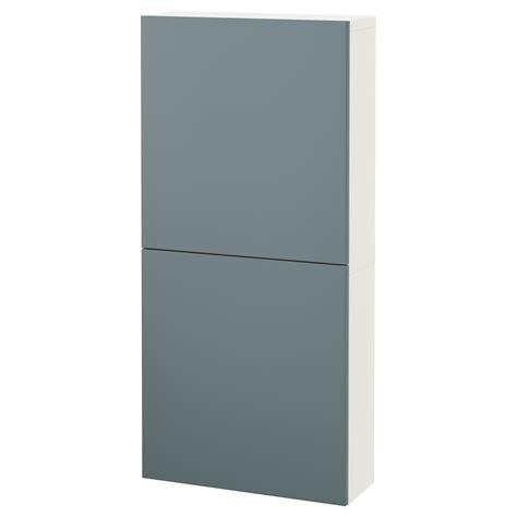 ikea besta cabinet with doors best 197 wall cabinet with 2 doors white valviken grey turquoise 60x20x128 cm ikea
