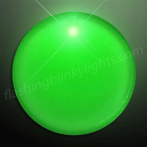 light blinking and green green light