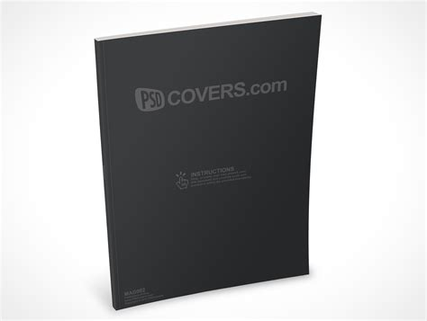 Mag002 Market Your Psd Mockups For Magazine Magazine Cover Mockup Template