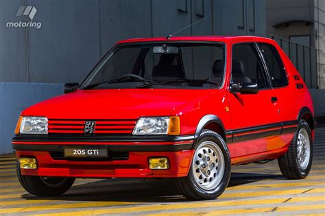 peugeot 205 gti peugeot 205 gti sets world record price motoring com au