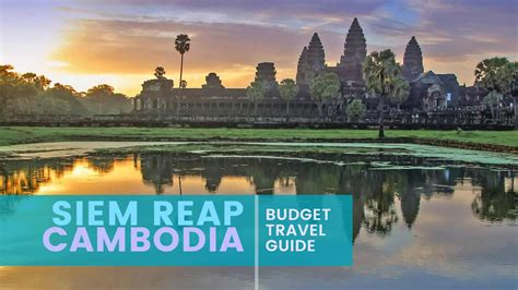 siem reap cambodia budget travel guide  poor