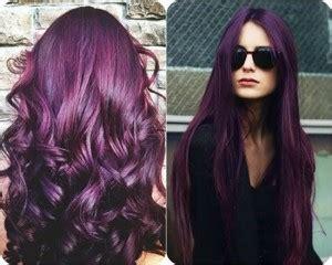 Purple Rinse Hair Dye For Dark Hair Relaxer | hair color trends dark purple hair dye
