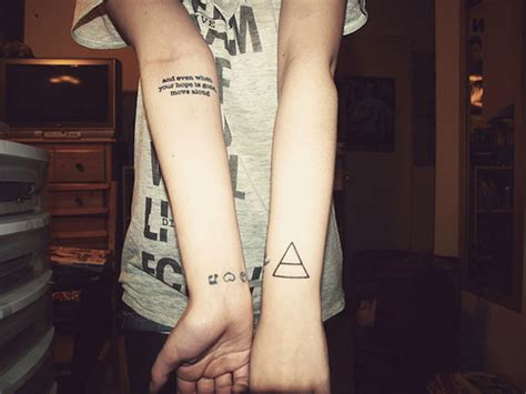 triad tattoo 68 magnificent triangle wrist tattoos