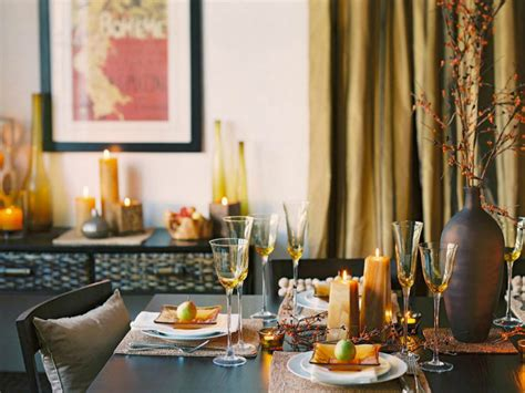 Contemporary Thanksgiving Decor gorgeous dining table fall decor ideas for every special