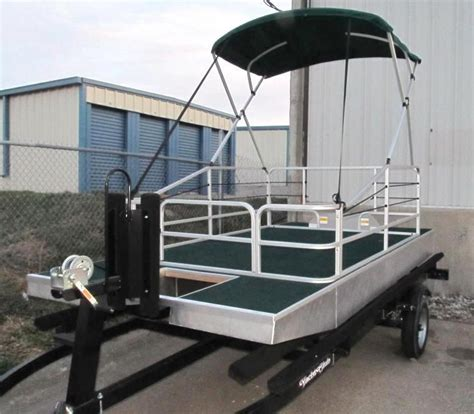 12 foot pontoon boat for sale 12 ft new concept pontoons home ez tow trailer