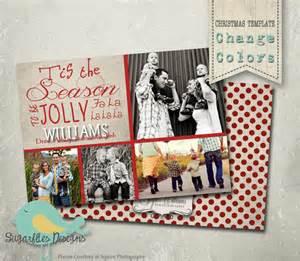 Family Christmas Card Template Christmas Card Photoshop Template Family Christmas Card 38
