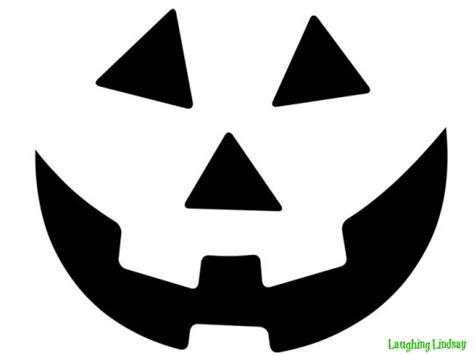 printable jack o lantern patterns easy free printable easy funny jack o lantern face stencils