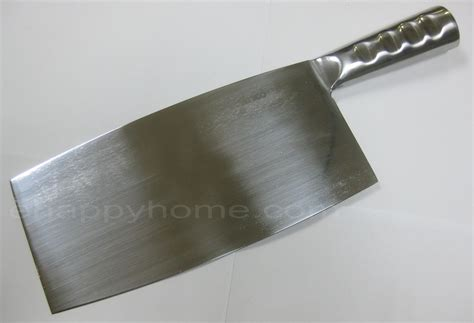 best chinese cleaver winco chinese cleaver with stainless steel handle 8 1 4