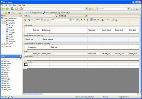data analysis software database report writer made simple