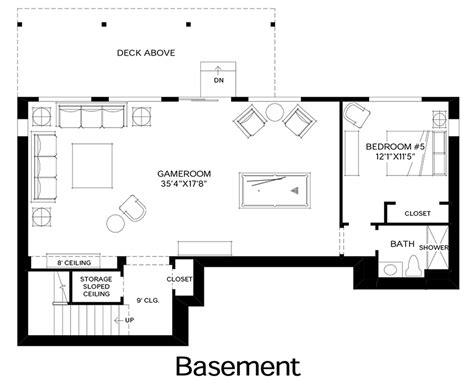 design your own basement floor plans talon ridge the tacoma with basement home design