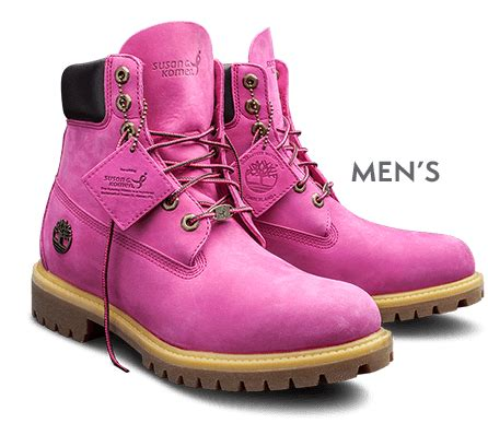mens pink boots it all started with the yellow boot timberland