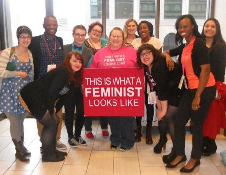 This Is What A Feminist Looks Like Meme - my picture was stolen and turned into a fat shaming anti