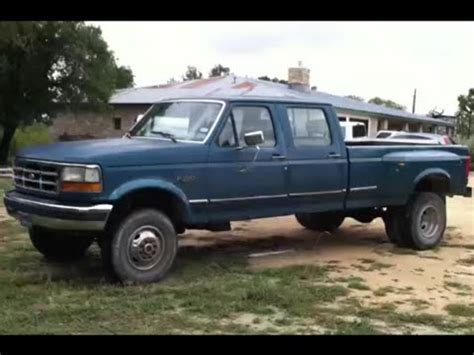 1994 ford f350 1994 ford f350 dually xlt powerstroke review
