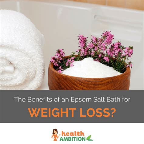 Epsom Salt Detox Bath For Weight Loss by Bathing In Salt Water To Lose Weight Diyinter