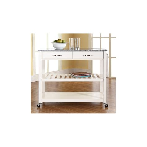 Thome Furniture Solid Granite Top Kitchen Cart Kitchen Kitchen Furniture Shopping