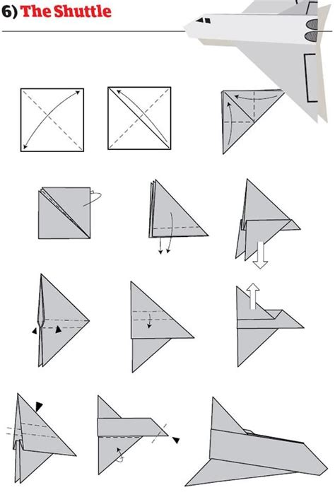 Different Ways To Make Paper Airplanes - best 25 best paper airplane design ideas on